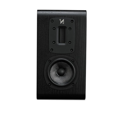 Quad S-1 Ribbon Bookshelf Speaker in black