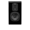 Quad S-2 Ribbon Bookshelf Speaker in black gloss