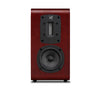 Quad S-2 Ribbon Bookshelf Speaker in mahogany