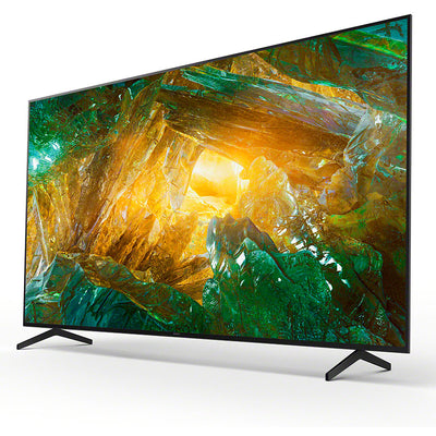 Sony BRAVIA KD85XH8096 - 85-inch - LED - 4K Ultra HD - High Dynamic Range (HDR) - Smart TV (Android TV) - with Voice Remote - (Black, 2020 model)
