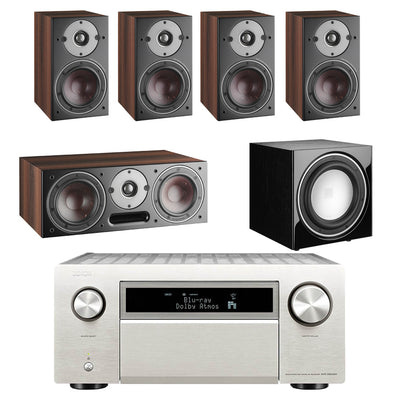 Denon AVC-X8500H AV Receiver With Dali Oberon 1  5.1 Speaker Package