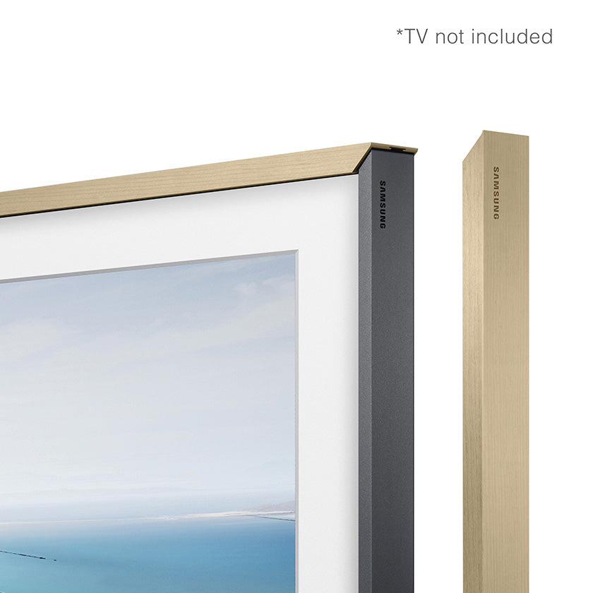 "Samsung Light Wood Bezel for 65"" Frame TV (VG-SCFN65LP)"