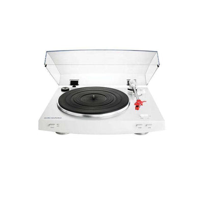 Audio Technica AT-LP3 Fully Automatic Belt-Drive Stereo Turntable - White - Call SpatialOnline 0345 557 7334