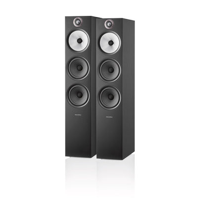 Bowers & Wilkins 603 S2 Anniversary Edition Floorstanding Speakers Black