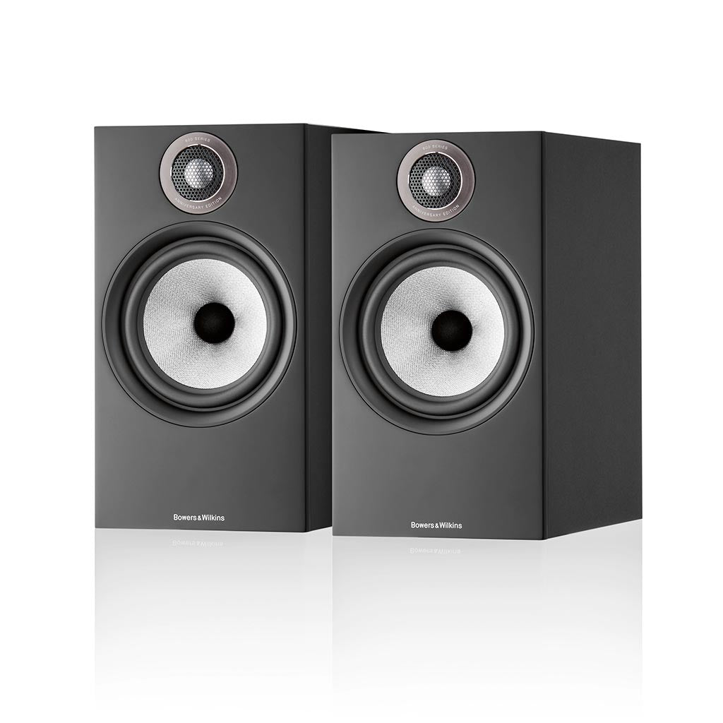 Bowers & Wilkins 606 S2 Anniversary Edition Standmount Speakers Black