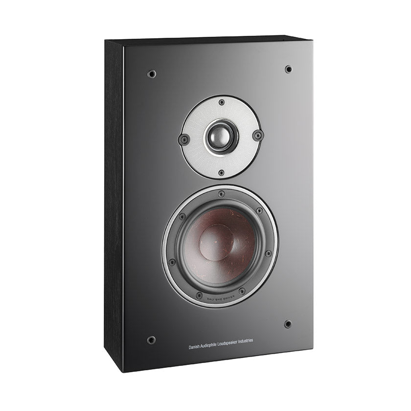Dali Oberon On-Wall Speakers in black ash