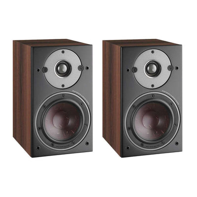 Dali Oberon 1 Bookshelf Speakers - Walnut - Call SpatialOnline 0345 557 7334