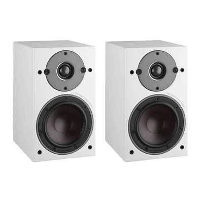Dali Oberon 1 Bookshelf Speakers - White - Call SpatialOnline 0345 557 7334