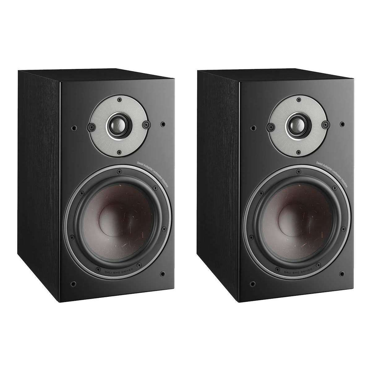 Dali Oberon 3 Bookshelf Speakers - Black - Call SpatialOnline 0345 557 7334