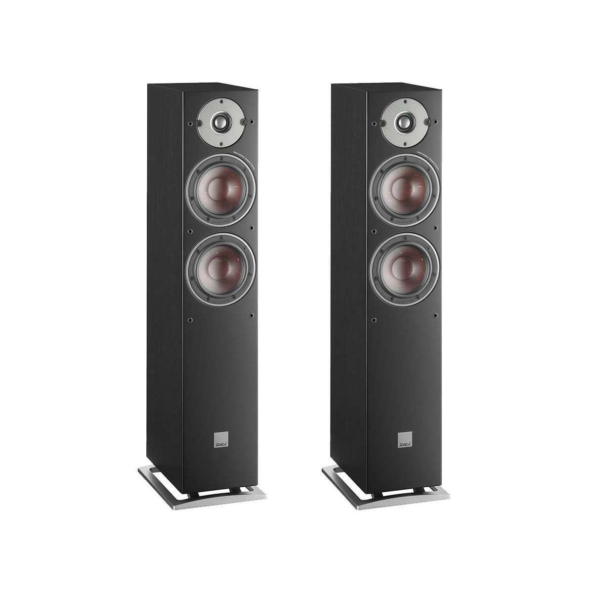 Dali Oberon 5 Floorstanding Speakers - Black - Call SpatialOnline 0345 557 7334