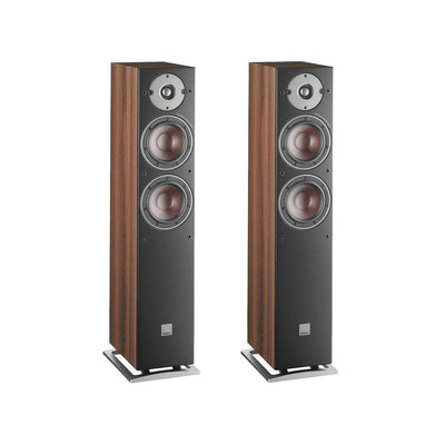 Dali Oberon 5 Floorstanding Speakers - Walnut - Call SpatialOnline 0345 557 7334