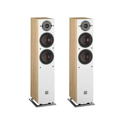 Dali Oberon 5 Floorstanding Speakers - Oak - Call SpatialOnline 0345 557 7334