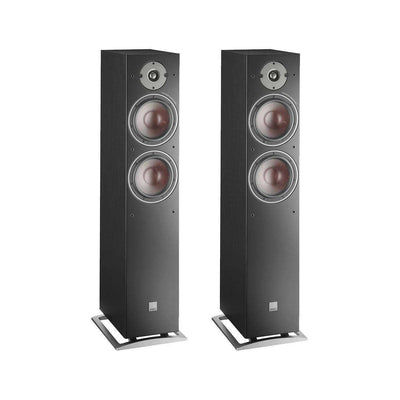 Dali Oberon 7 Floorstanding Speakers - Black - Call SpatialOnline 0345 557 7334