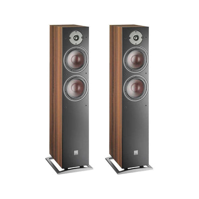 Dali Oberon 7 Floorstanding Speakers - Walnut - Call SpatialOnline 0345 557 7334