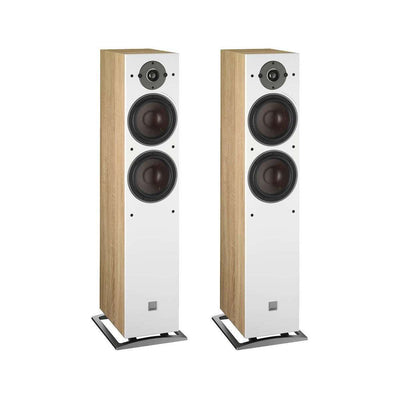 Dali Oberon 7 Floorstanding Speakers - Oak - Call SpatialOnline 0345 557 7334