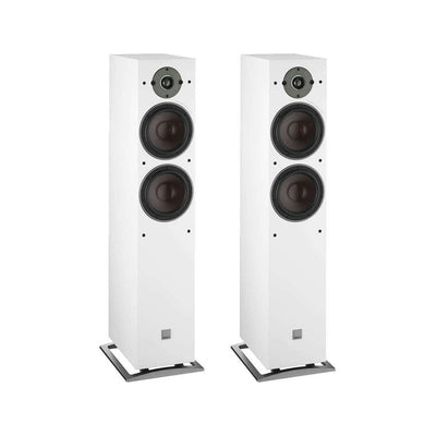 Dali Oberon 7 Floorstanding Speakers - White - Call SpatialOnline 0345 557 7334
