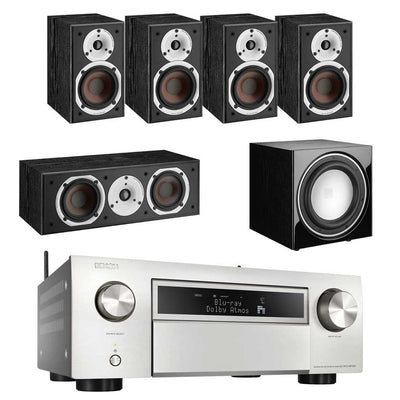 Denon AVC-X6700H AV Amplifier With Dali Spektor 1 5.1 Speaker Package Dali E9F Subwoofer