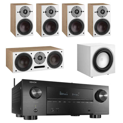 Denon AVC-X3700H 8K AV Receiver With Dali Oberon 1 5.1 Speaker Package