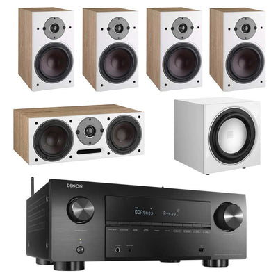 Denon AVC-X3700H 8K AV Receiver With Dali Oberon 3 5.1 Speaker Package