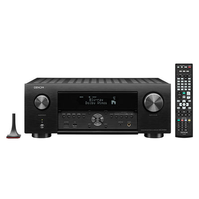 DENON AVC-X4700H 9.2ch 8K AV amplifier with remote control