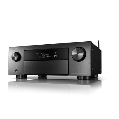 DENON AVC-X4700H 9.2ch 8K AV amplifier in black