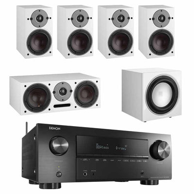 Denon AVR-X2700H - Dali Oberon 1 5.1 Speaker Package With E-9F Subwoofer