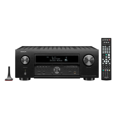 DENON AVC-X6700H 8K AV Receiver with remote