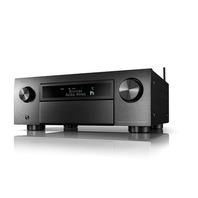 DENON AVC-X6700H 8K AV Receiver in black