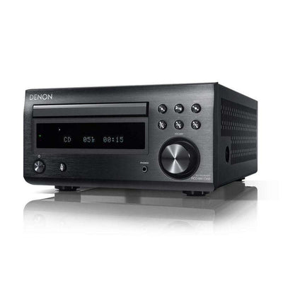 DENON D-M41 DAB Micro System With Bluetooth - Black - Call SpatialOnline 0345 557 7334