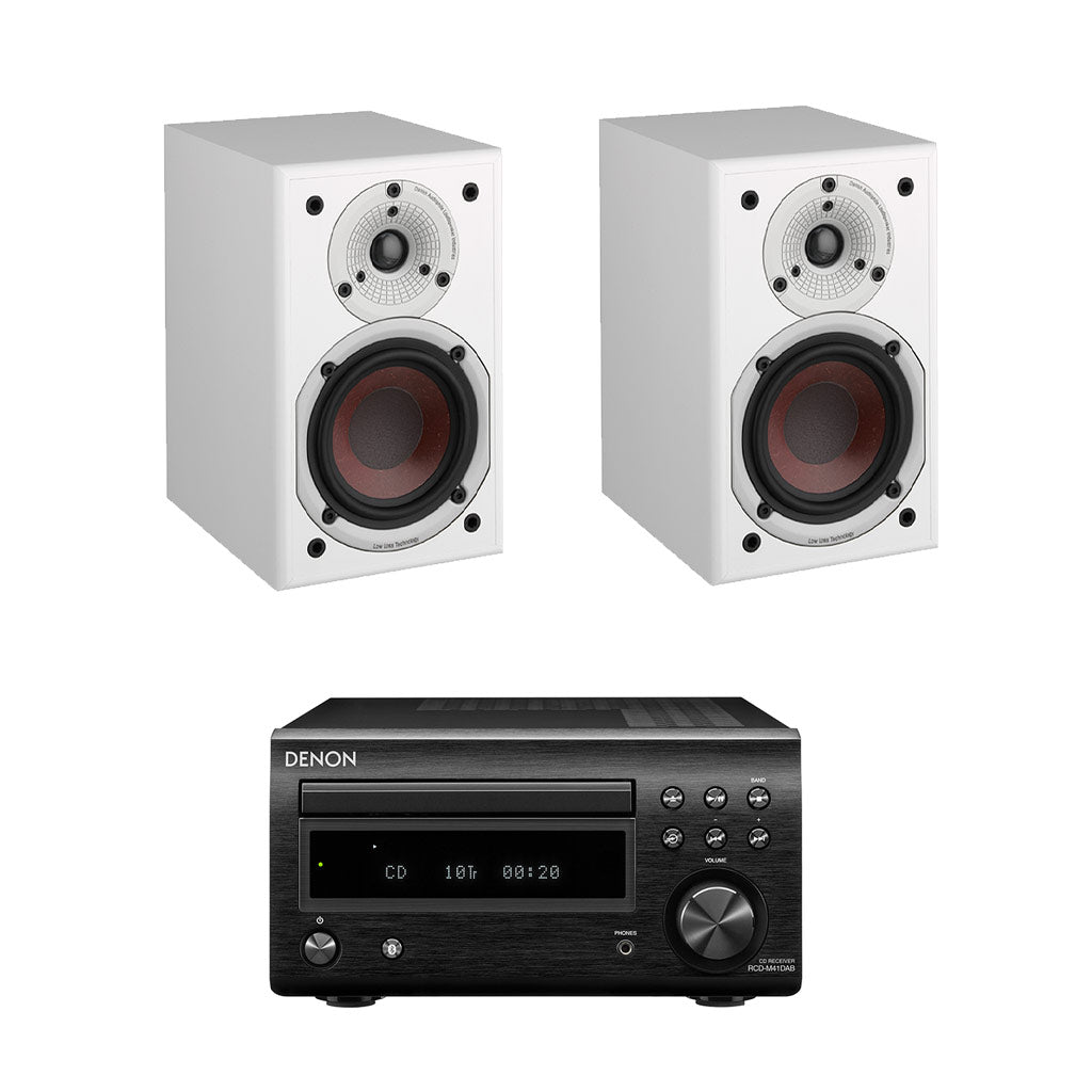 DENON D-M41 DAB - Dali Spektor 1 Bookshelf Speakers