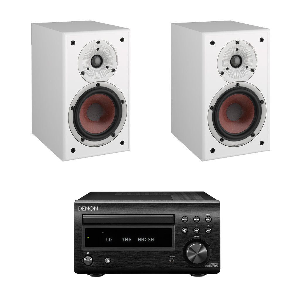 DENON D-M41 DAB - Dali Spektor 2 Bookshelf Speakers