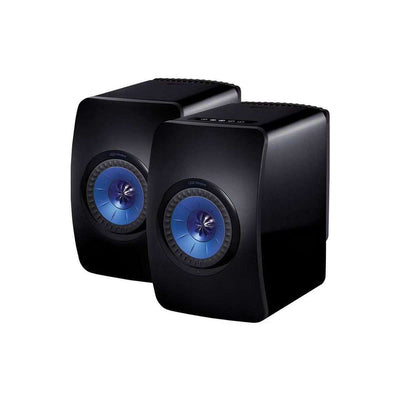 KEF  LS50 Wireless Speakers - Black - Call SpatialOnline 0345 557 7334