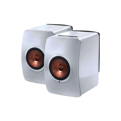 KEF  LS50 Wireless Speakers - White - Call SpatialOnline 0345 557 7334