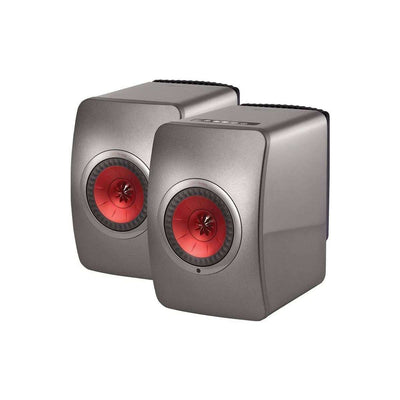 KEF  LS50 Wireless Speakers - Titanium - Call SpatialOnline 0345 557 7334