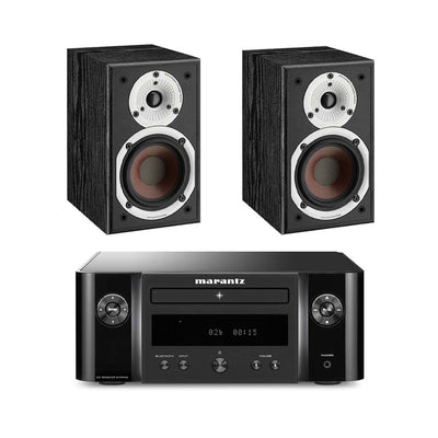 Marantz M-CR412 with Dali Spektor 1 Bookshelf Speakers