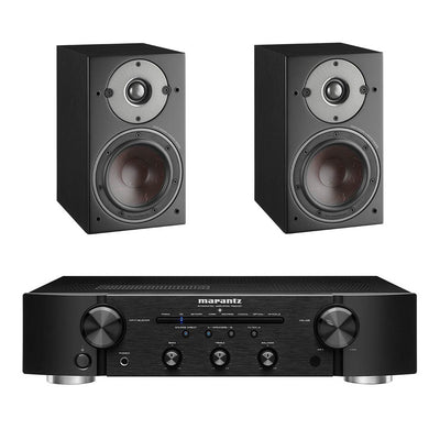 Marantz PM6007 Black - Dali Oberon 1 Black