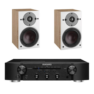 Marantz PM6007 Black - Dali Oberon 1 Light Oak