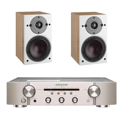 Marantz PM6007 Silver - Dali Oberon 1 Light Oak
