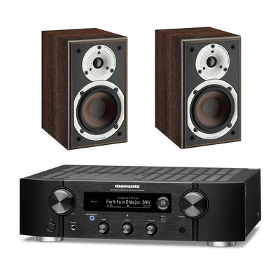 Marantz PM7000N Network Amplifier With Dali Spektor 1 Bookshelf Speakers