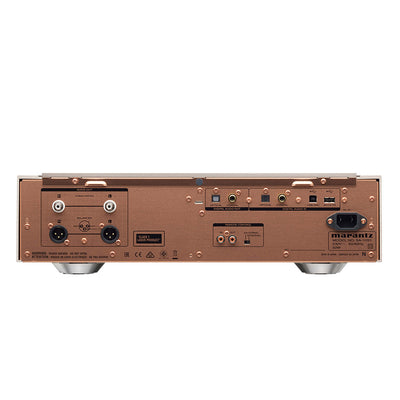 Marantz SA-10 CD Player Rear Panel