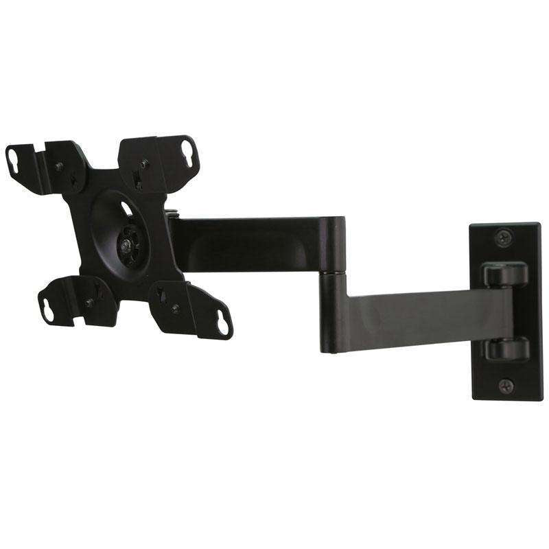 "Peerless PRMA150 full motion bracket for TV's from 10"" to 26"""