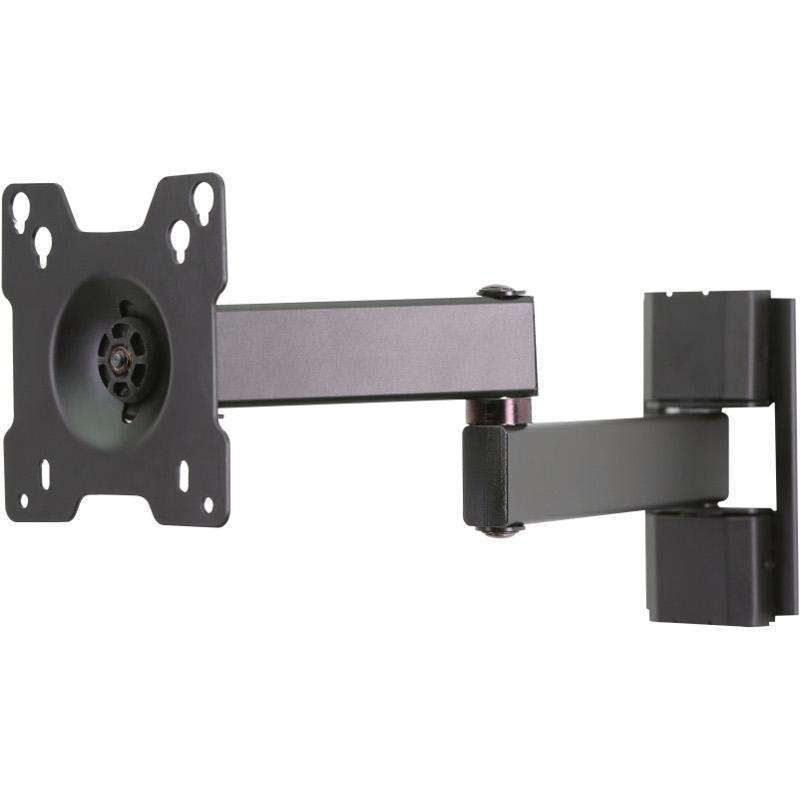 "Peerless TVA150 full motion bracket for TV's from 10"" to 24"""