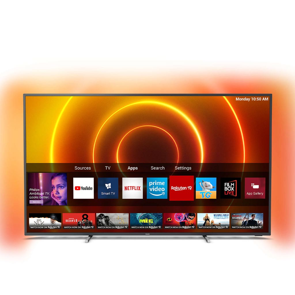 "Philips 50PUS7805 50"" (2020) 4K UHD Ambilight LED Smart TV"