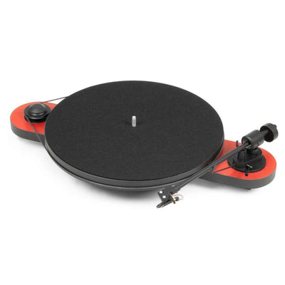 Pro-Ject Elemental Turntable - Red - Call SpatialOnline 0345 557 7334