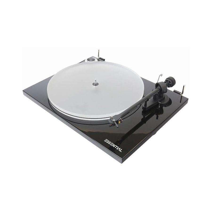 Pro-Ject Essential III A Turntable - Black gloss - Call SpatialOnline 0345 557 7334