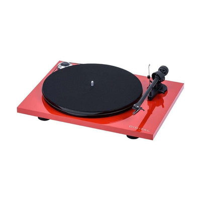 Pro-Ject Essential III Digital Turntable - Red - Call SpatialOnline 0345 557 7334