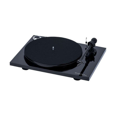 Pro-Ject Essential III Digital Turntable - Black - Call SpatialOnline 0345 557 7334