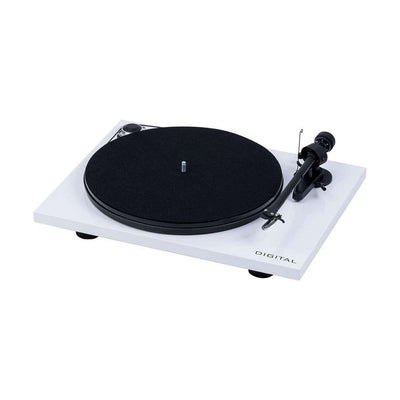 Pro-Ject Essential III Digital Turntable - White - Call SpatialOnline 0345 557 7334