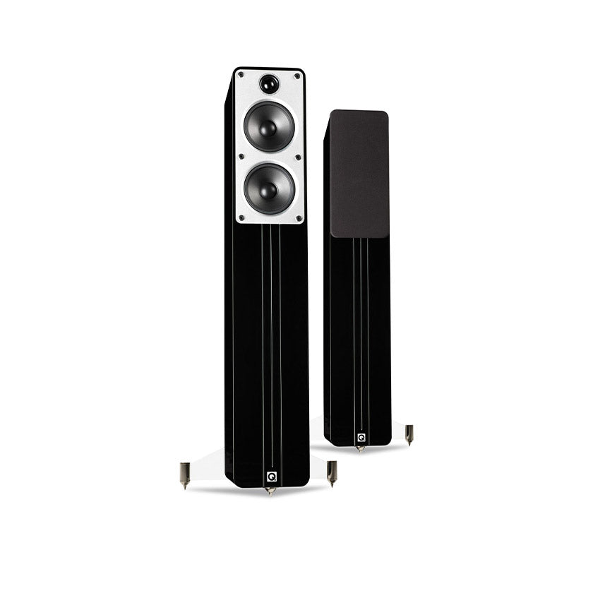Q Acoustics Concept 40 Floorstanding Speakers in gloss black