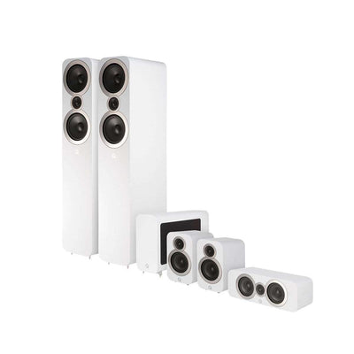 Q Acoustics Q3050i 5.1 Home Cinema Speaker Package - Arctic White - Call SpatialOnline 0345 557 7334